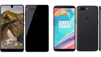 OnePlus 5T vs Essential Phone