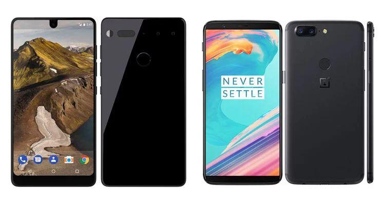 OnePlus 5T vs Essential Phone