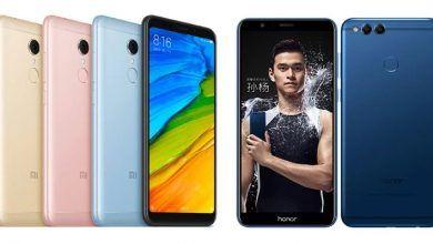 Xiaomi Redmi 5 Plus VS Honor 7X